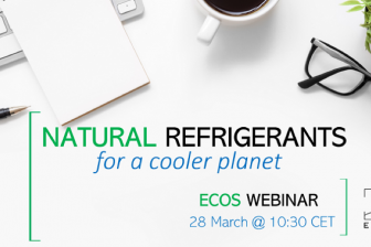 ECOS webinar on standards and natural refrigerants